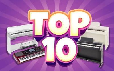 Les 10 meilleurs pianos numériques