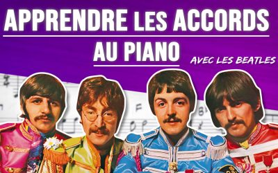 Accords piano – Apprendre les bases facilement
