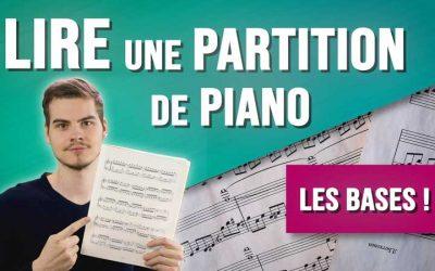 Comment lire une partition de piano